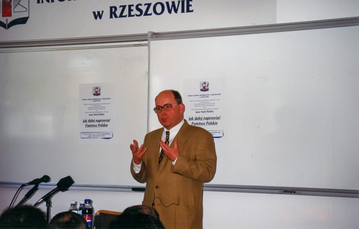 2000.05.16 - wykład Rokity
