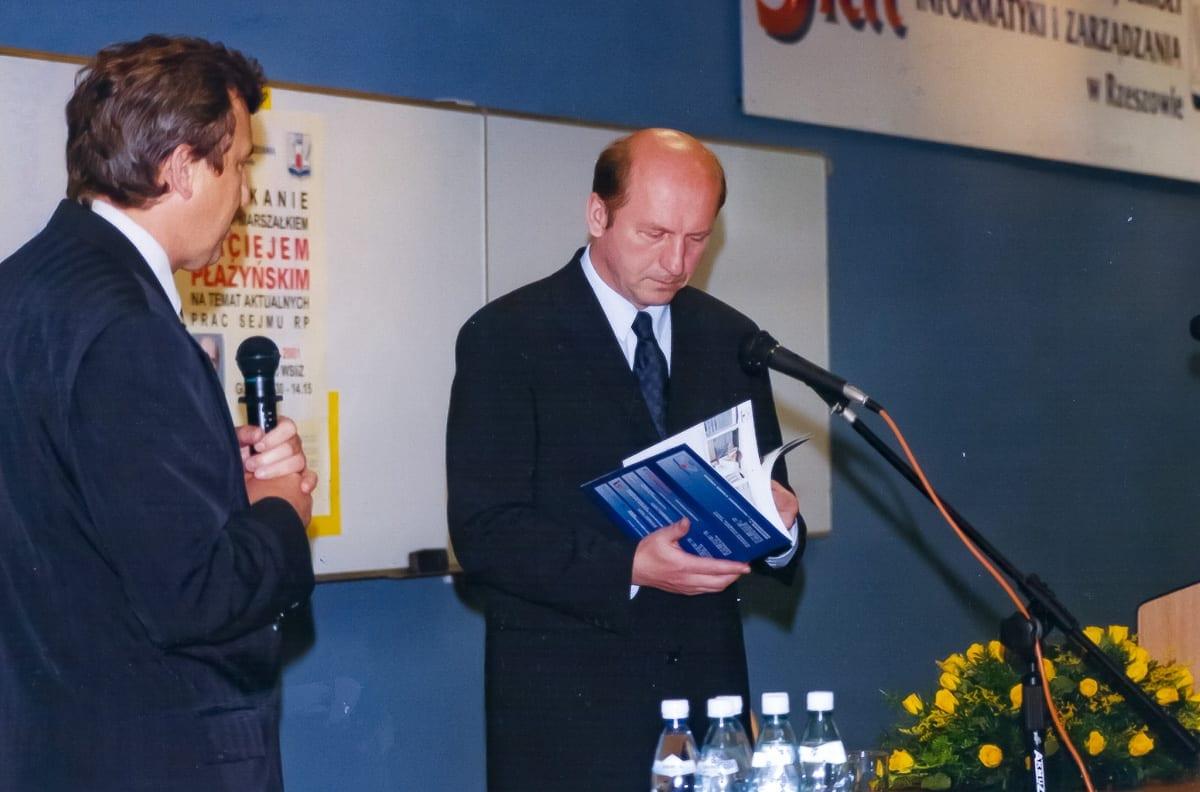 2001.05.30 - wizita Pożyńskiego
