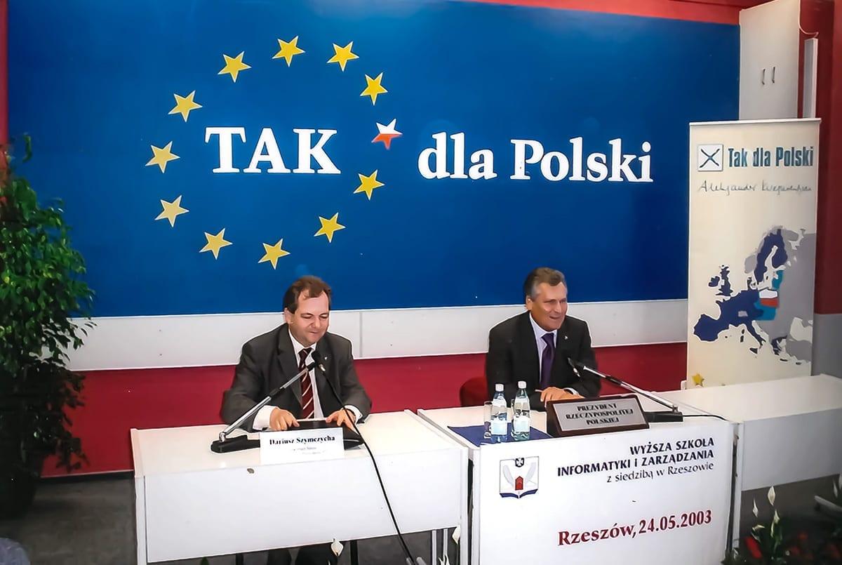 2003.05.24 - gość A. Kwaśniewski — kopia