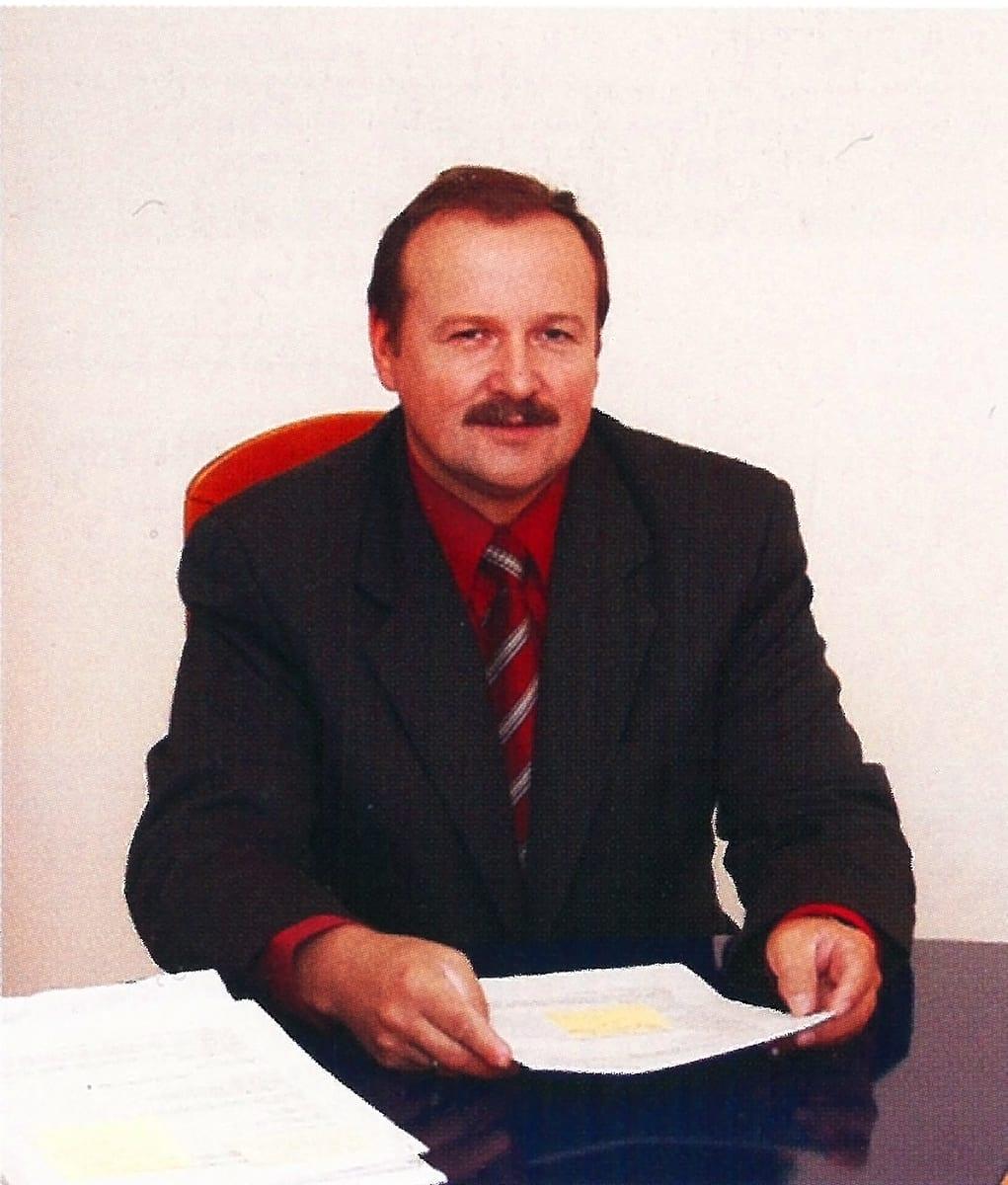dr inż. Jan Andreasik wiceprezes zarządu