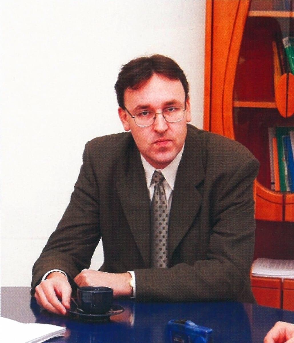 dr Olgierd Łunarski wiceprezes zarządu